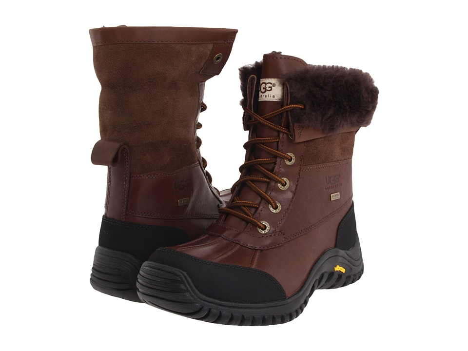 Ugg Adirondack Boot II (Obsidian) Women's Cold Weather Boots