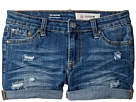 AG Adriano Goldschmied Kids The Heather Roll Cuff Shorts in Sanded Wash (Big Kids)