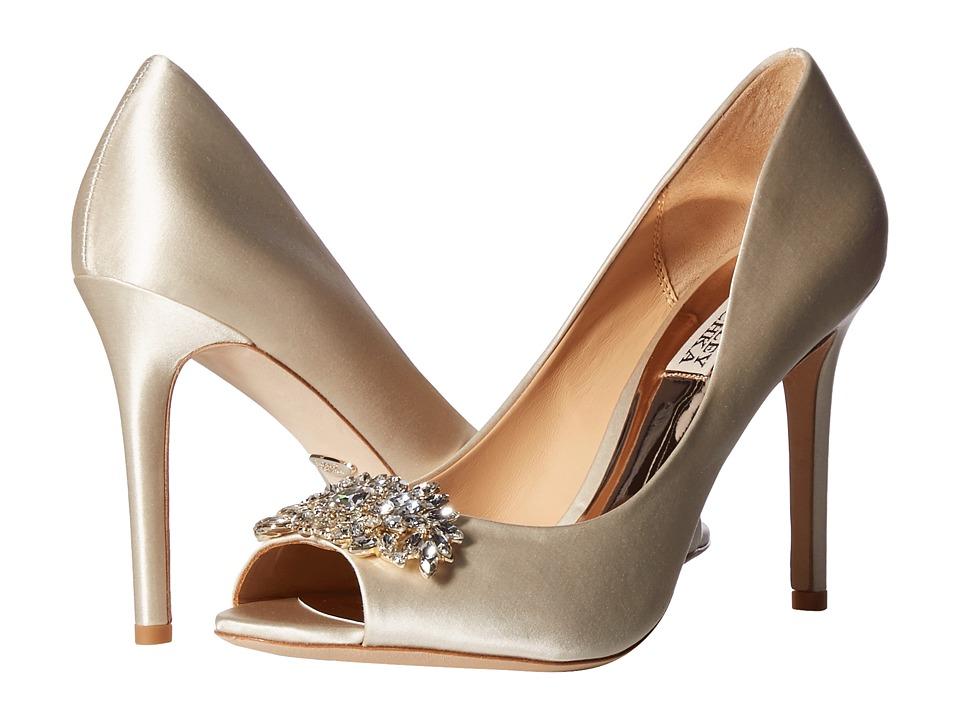 Badgley Mischka Paloma (Ivory Satin) Sandals