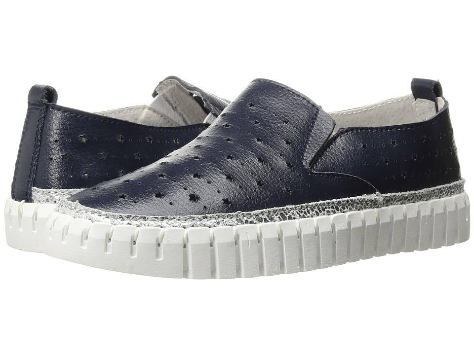 bernie mev. Kids - Twk40 (Little Kid/Big Kid) (Navy) Girls Shoes