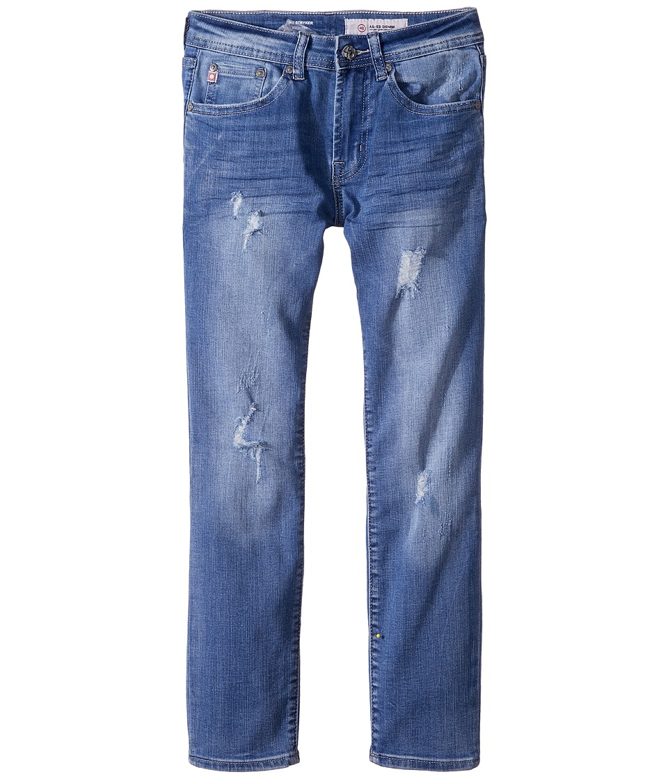 AG Adriano Goldschmied Kids - The Stryker Slim Straight in 11 Year Manuscript (Big Kids) (11 Year Manuscript) Boys Jeans