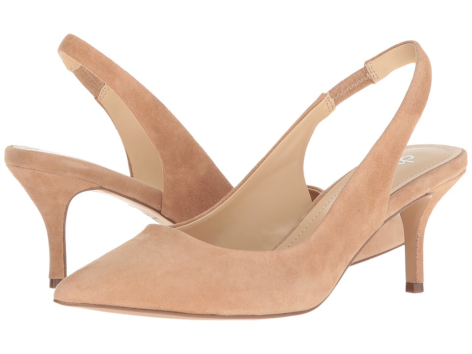 Charles by Charles David Amy Slingback Pump (Nude Suede) Women