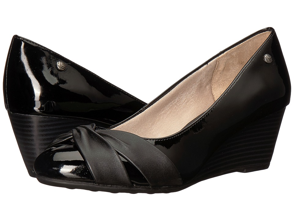 LifeStride - Janice (Black) Womens Sling Back Shoes