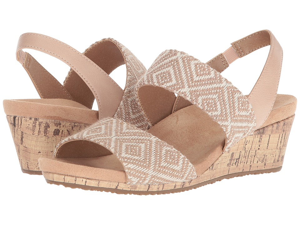 LifeStride Marcela (Tan/White) Women's Shoes