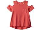 AG Adriano Goldschmied Kids Tess Cold Shoulder Top (Toddler)