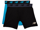 New Balance NB Premium Performance 6 Boxer Brief 2-Pack