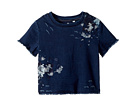 AG Adriano Goldschmied Kids Dalis Knit Embroidered Short Sleeve Shirt (Big Kids)
