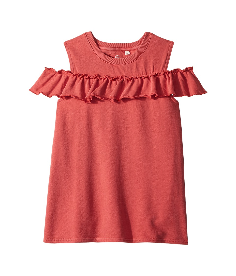 AG Adriano Goldschmied Kids - Newport Cold Shoulder Top (Toddler) (Flame) Girls Clothing