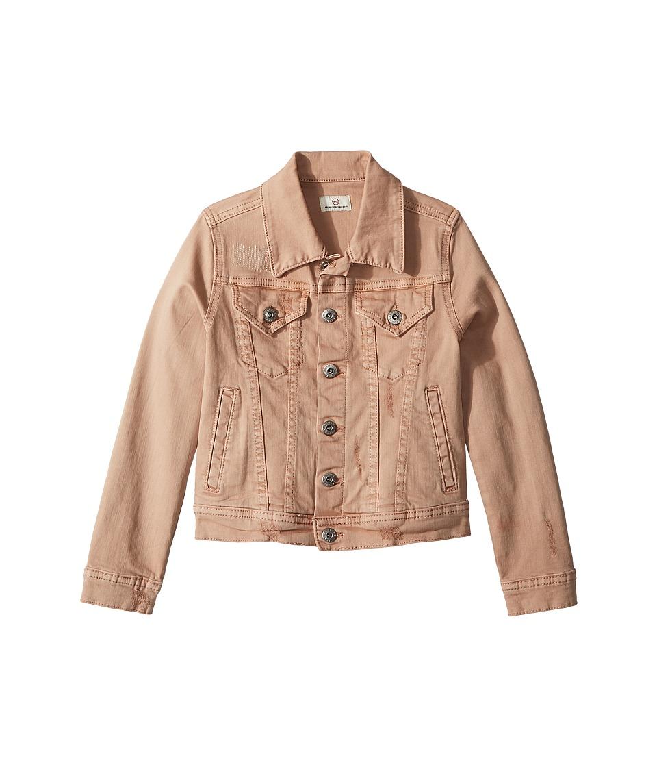 AG Adriano Goldschmied Kids - Maria Pigment Twill Jacket (Big Kids) (Eraser Pink) Girls Coat
