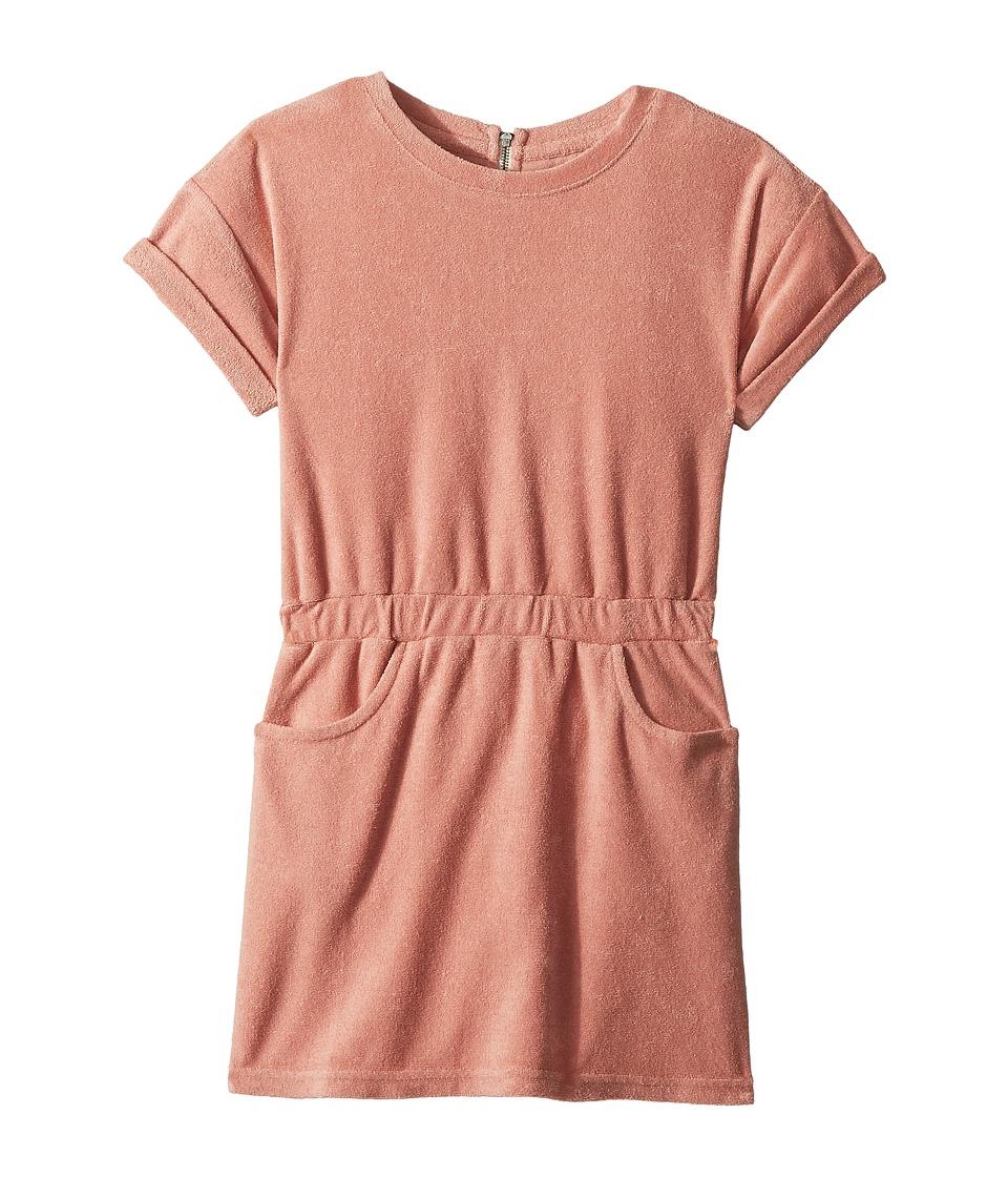 AG Adriano Goldschmied Kids - Elana Terry Dress (Big Kids) (Pretty Pink) Girls Dress