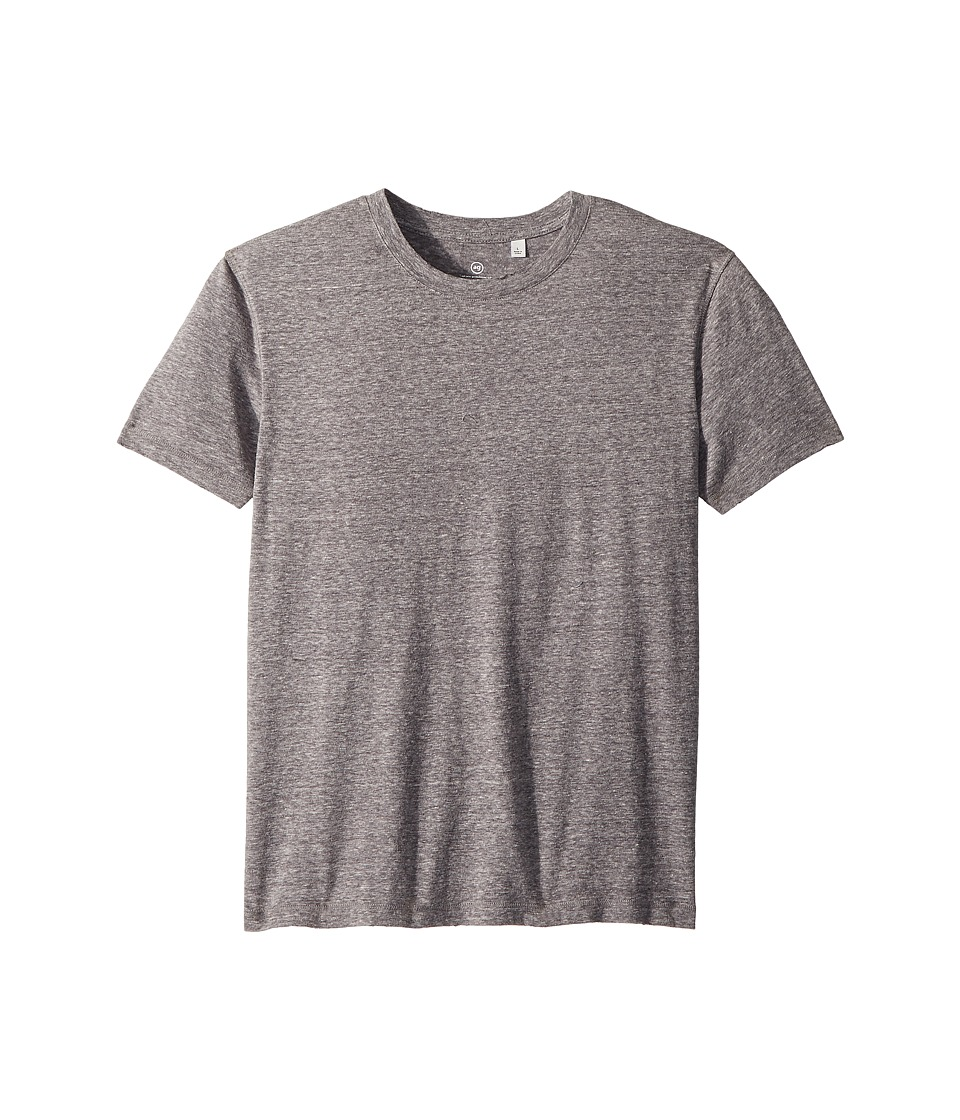 AG Adriano Goldschmied Kids - Dane Destructed Tee (Big Kids) (Nickel) Boys T Shirt