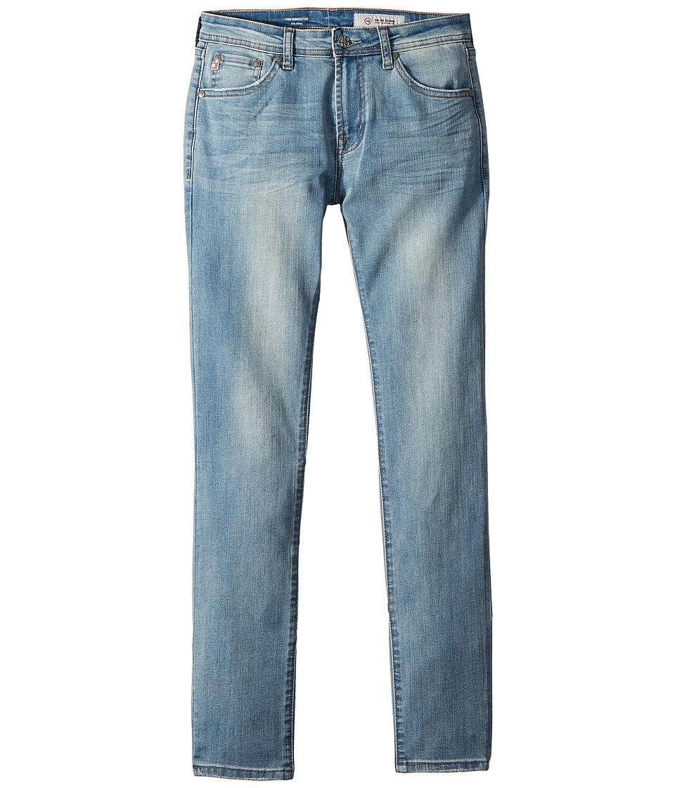 AG Adriano Goldschmied Kids - The Kingston Slim Skinny in Lite Blue (Big Kids) (Lite Blue) Boys Jeans
