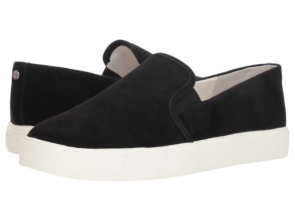 Sam Edelman Elton (Black Kid Suede Leather) Women's Shoes