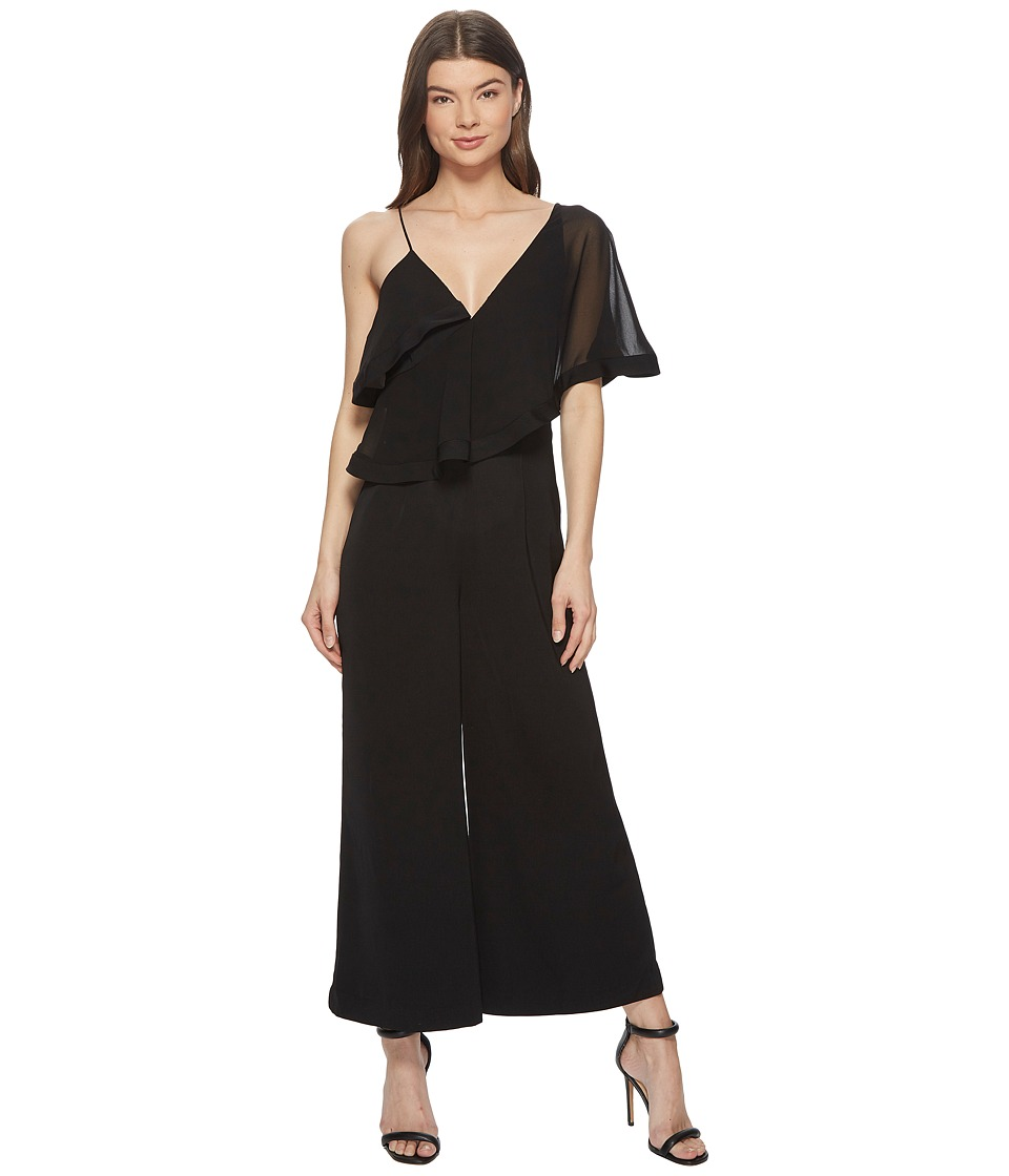 KEEPSAKE THE LABEL - No Love Jumpsuit (Black) Womens Jumpsuit & Rompers One Piece