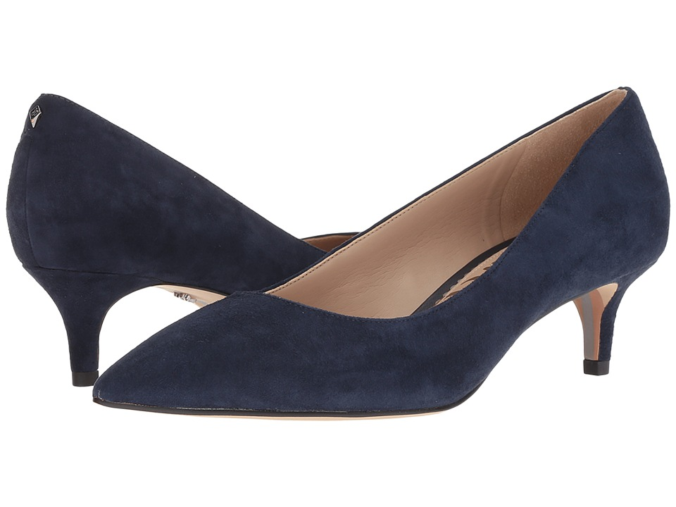 Sam Edelman Dori (Baltic Navy Kid Suede Leather) Women's Shoes