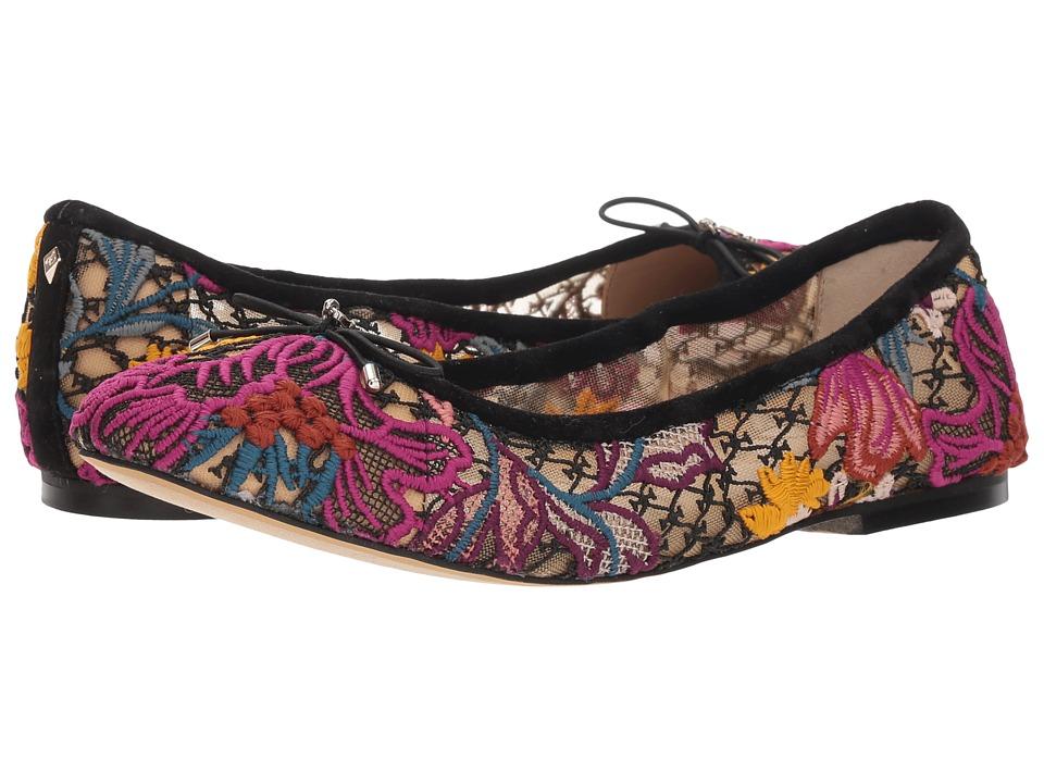 Sam Edelman Felicia (Bright Multi Floral Chintz Lace) Flats