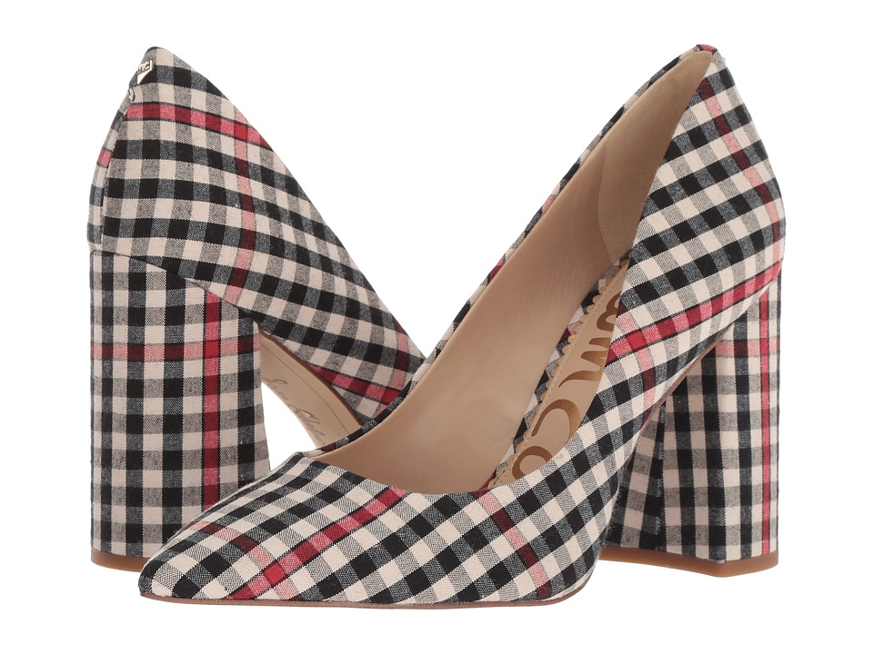 Sam Edelman Halton (Neutral Multi Shepherds Plaid) Women's Shoes