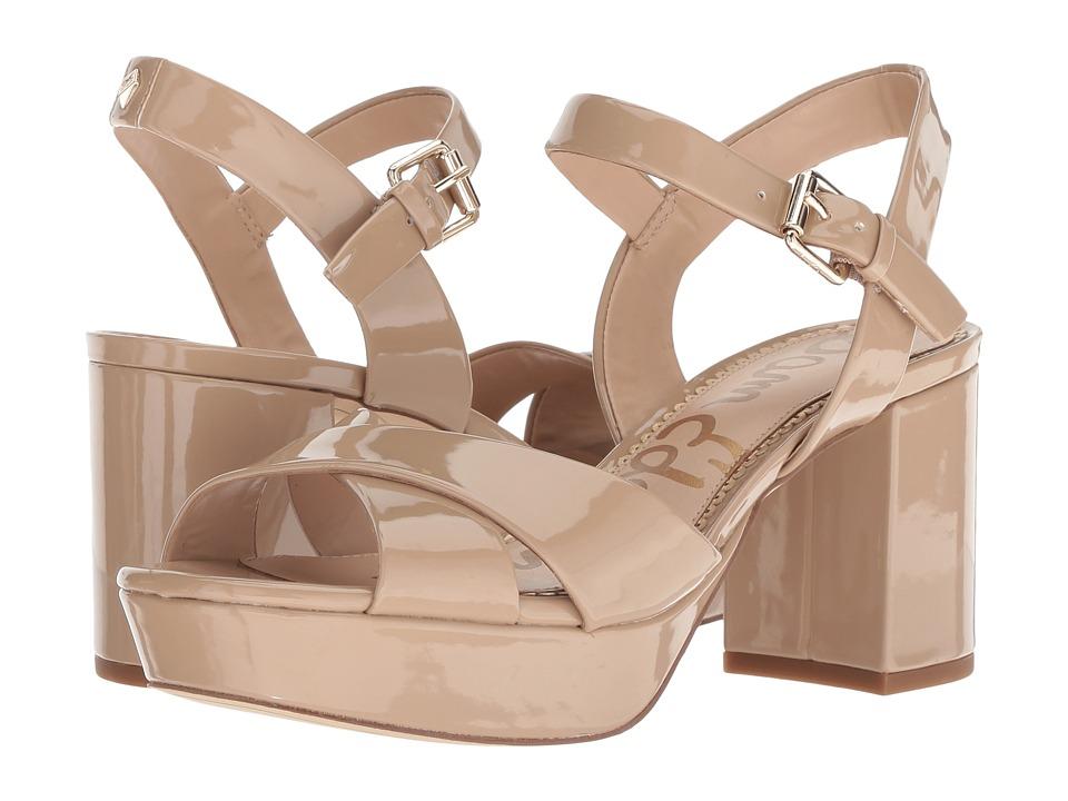 Sam Edelman Jolene (Classic Nude Patent) Women's Shoes