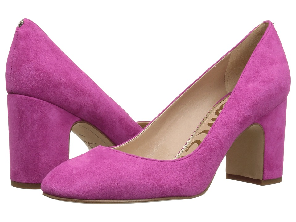 Sam Edelman Junie (Retro Pink Kid Suede Leather) Women's Shoes