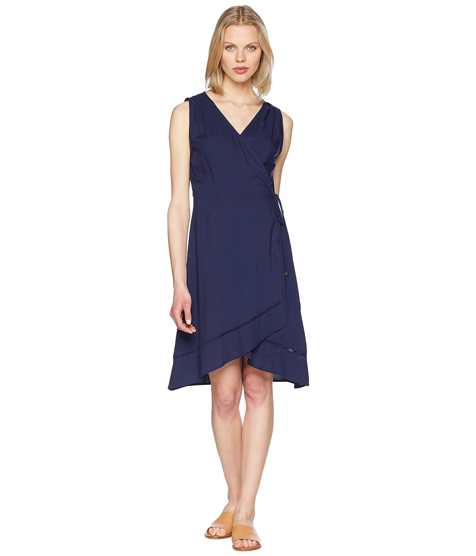 Heidi Klein - Anacapri Wrap Dress (Navy) Womens Swimwear