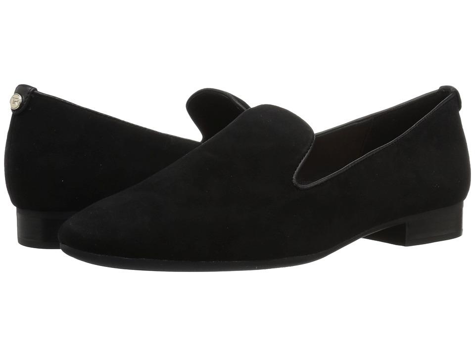 Taryn Rose Bryanna (Black Silky Suede) Women's Shoes