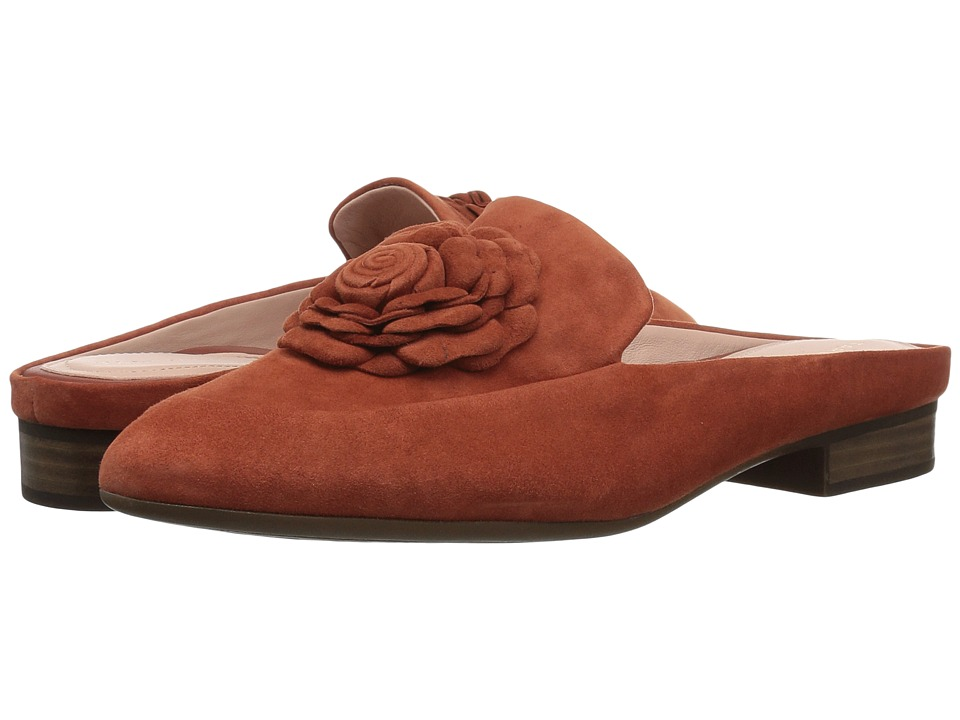 Taryn Rose Blythe (Clove Silky Suede) Women's Shoes