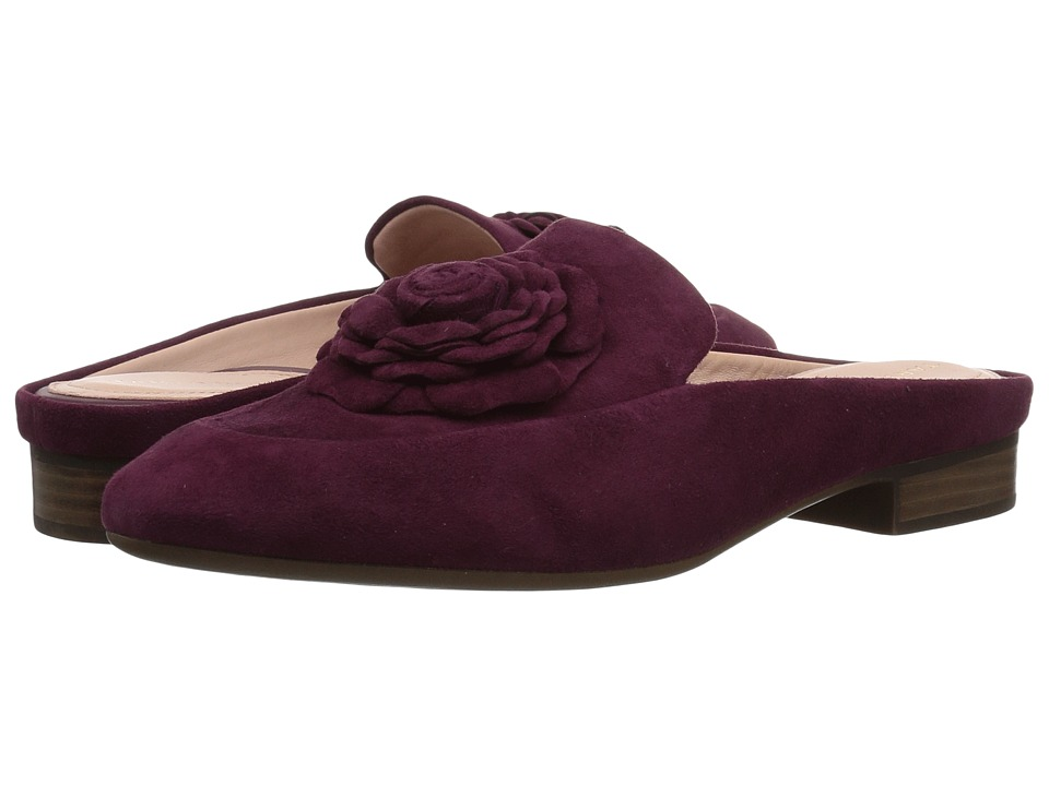 Taryn Rose Blythe (Fig Silky Suede) Women's Shoes