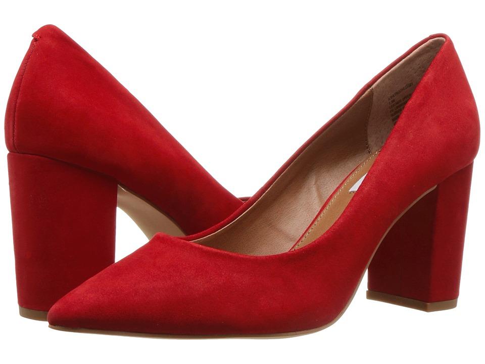 Steve Madden Exclusive - Ashlyn (Red Nubuck) High Heels