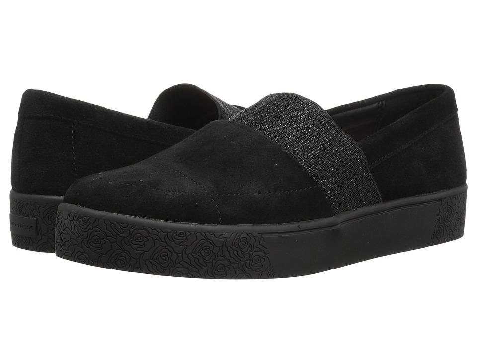 Taryn Rose Greta (Black Silky Suede) Women's Shoes
