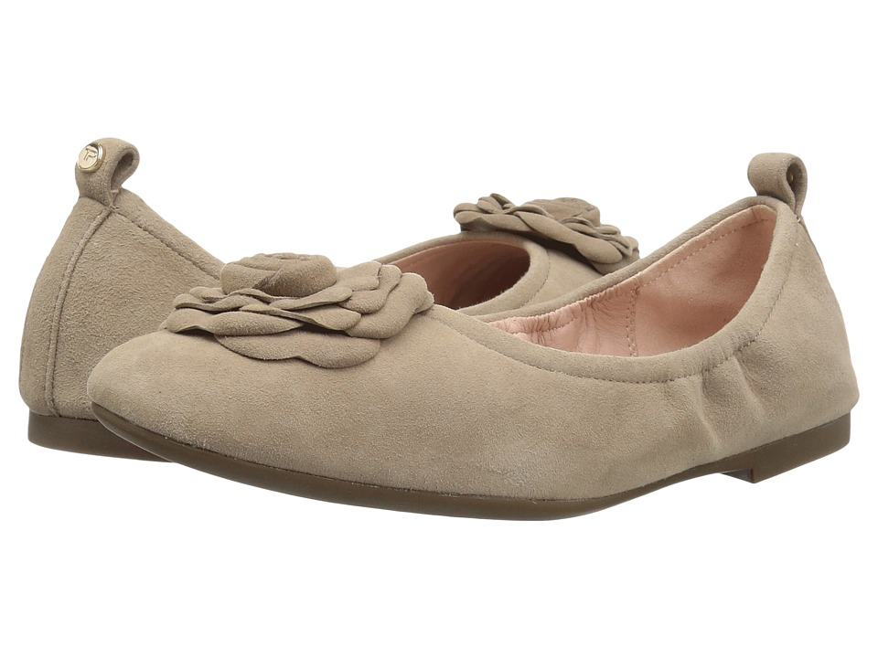 Taryn Rose Rosalyn (Taupe Silky Suede) Women's Shoes