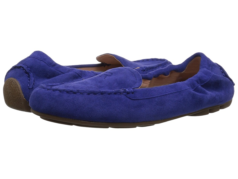 Taryn Rose Kristine (Cobalt Silky Suede) Women's Shoes
