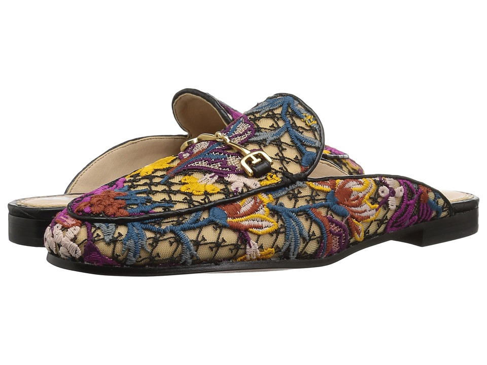 Sam Edelman Linnie (Bright Multi Floral Chintz Lace) Women's Clog/Mule Shoes