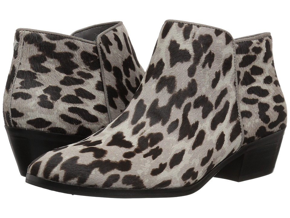 Sam Edelman Petty (Grey Clouded Leopard Brahma Hair) Women's Shoes