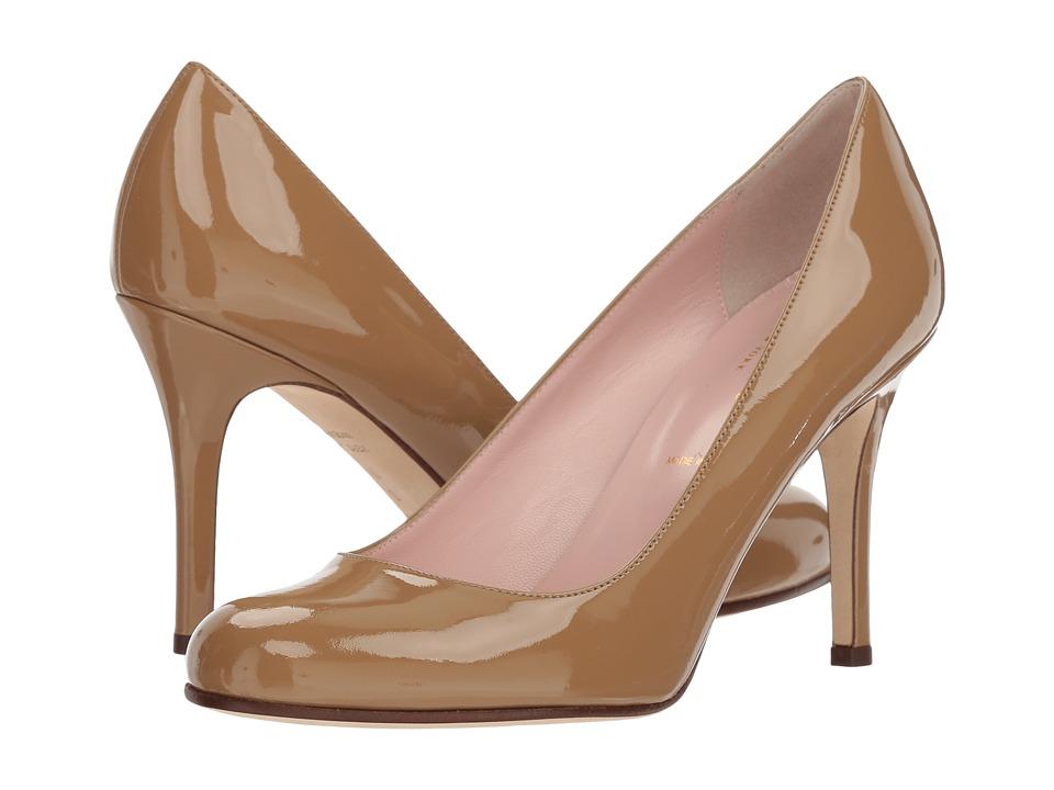 Kate Spade New York Karolina (Camel Patent Leather) Women's Slip-on Dress Shoes