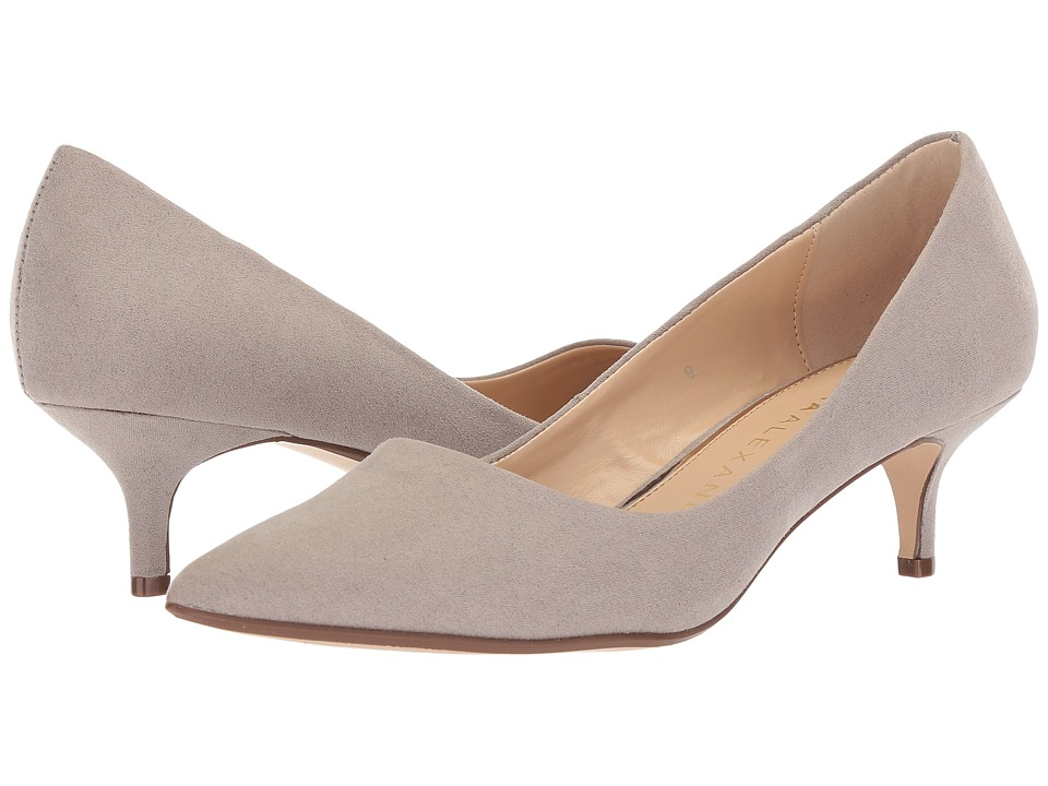 Athena Alexander Target (Taupe Suede) 1-2 inch heel Shoes