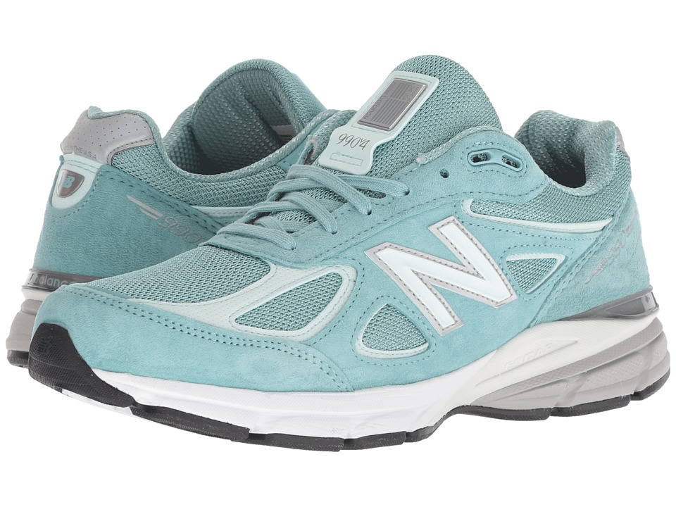 New Balance W990v4 (Mineral Sage/Seafoam) Women's Running Shoes