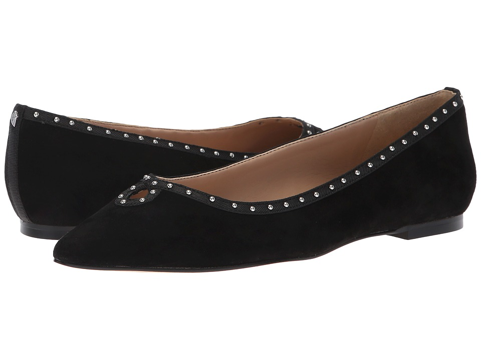 Sam Edelman Rini (Black Kid Suede Leather) Women's Shoes