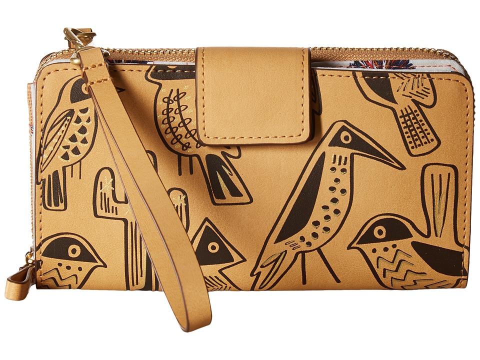 Vera Bradley - Resort Wristlet (Vachetta Brown) Wristlet Handbags