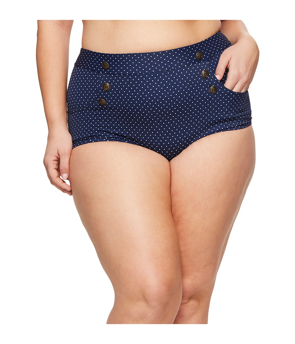 Unique Vintage Plus Size Mrs. Cooper Bottom 57743-CZ044-PL-410