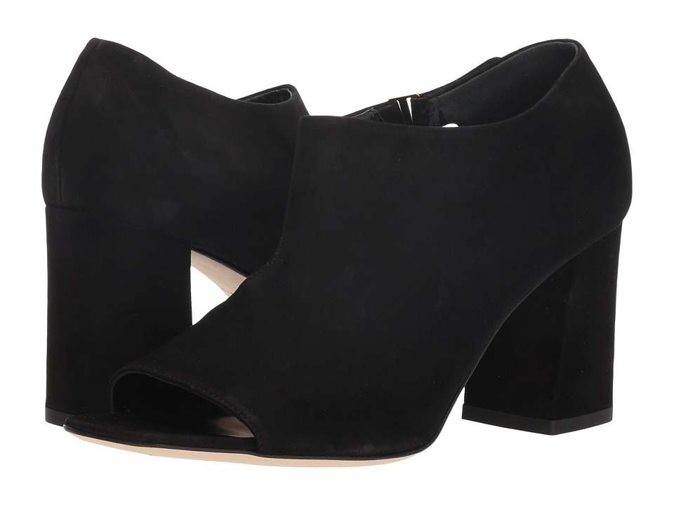 Via Spiga Eladine (Black Suede) Women's Shoes