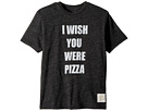 The Original Retro Brand Kids Wish You Were Pizza Short Sleeve Tri-Blend Tee (Big Kids)