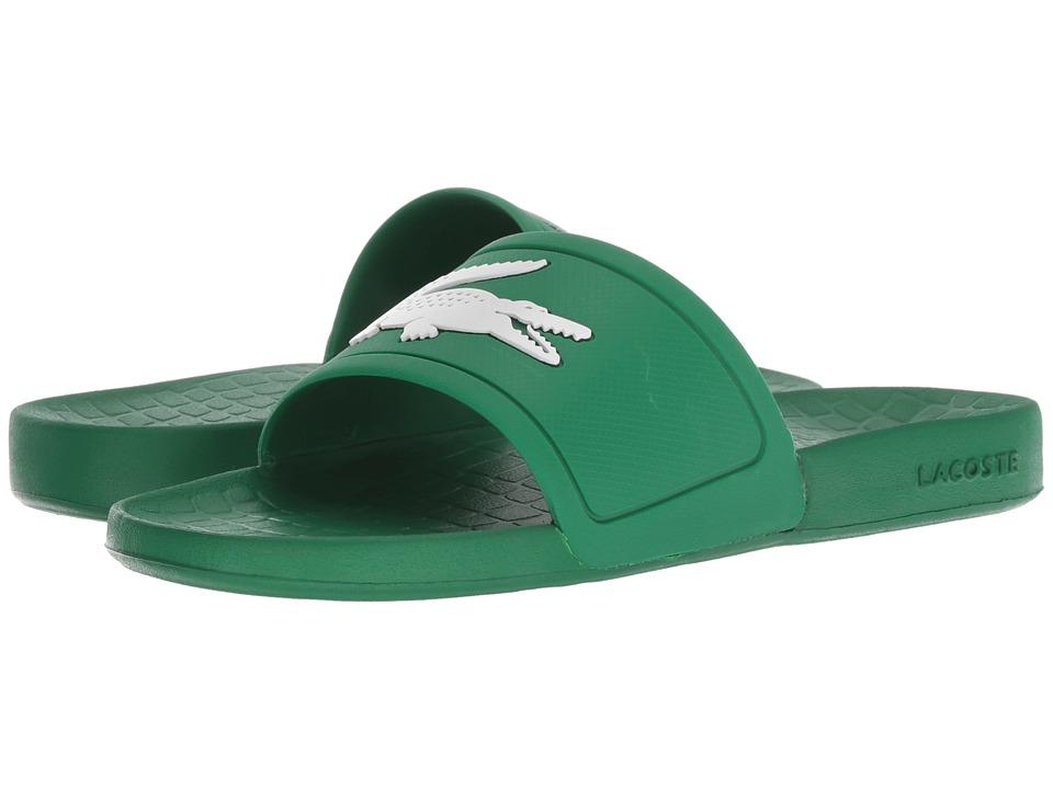 Lacoste Fraisier 318 2 P (Green/White) Women's Shoes
