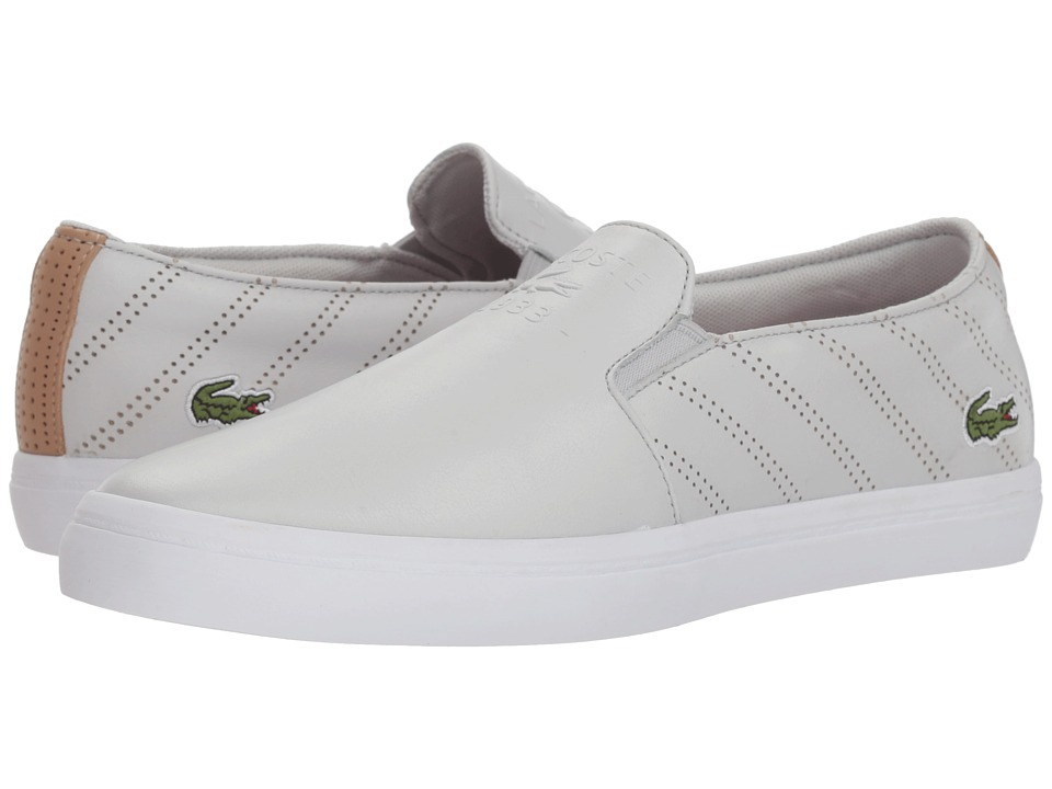 Lacoste Gazon 318 2 (Light Grey/White) Women's Shoes