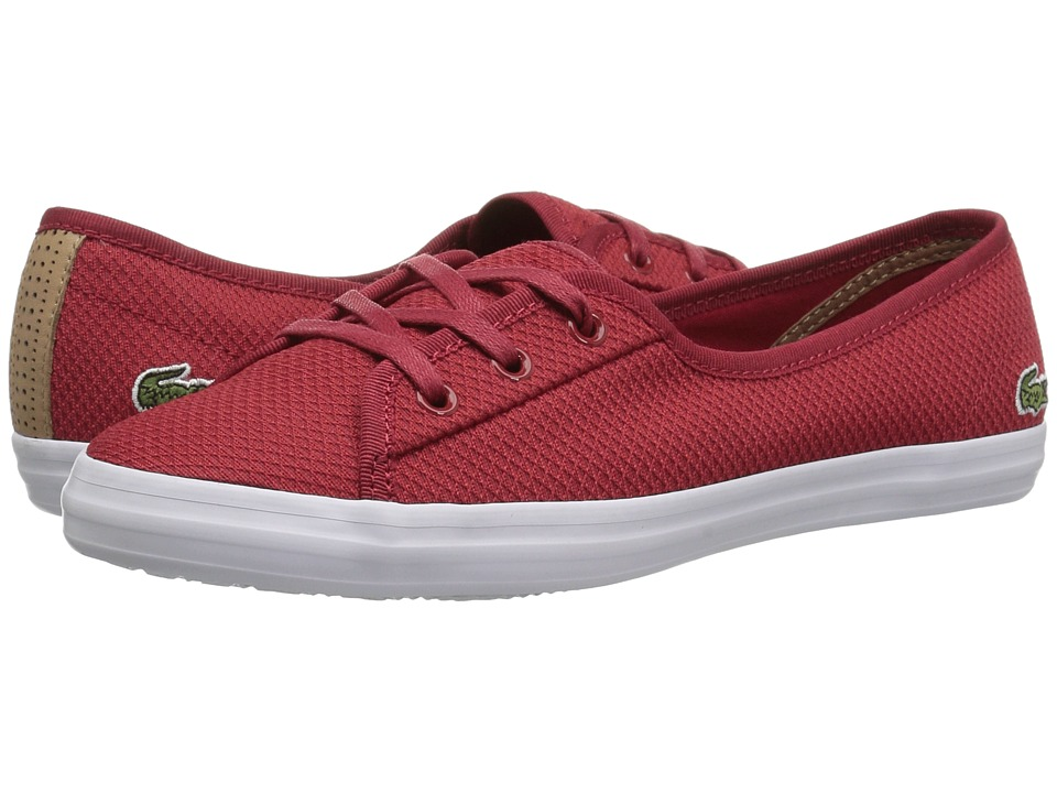 Lacoste Ziane Chunky 318 1 (Red/White) Women's Shoes
