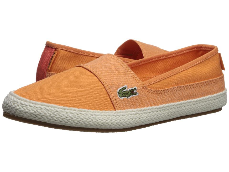 Lacoste Marice 218 1 (Orange/Pink) Women's Shoes