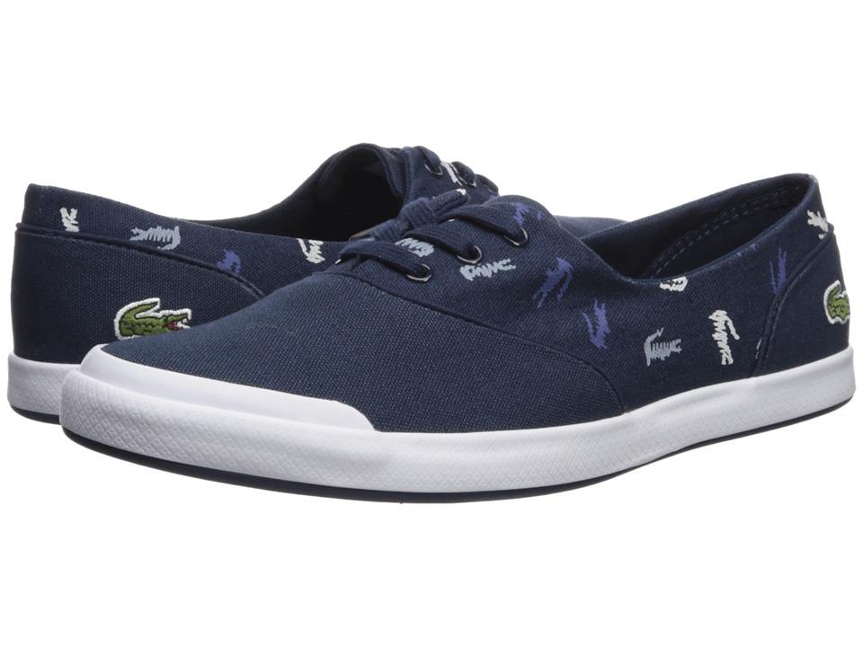 Lacoste Lancelle 3 Eye 218 1 (Navy/White) Women's Shoes