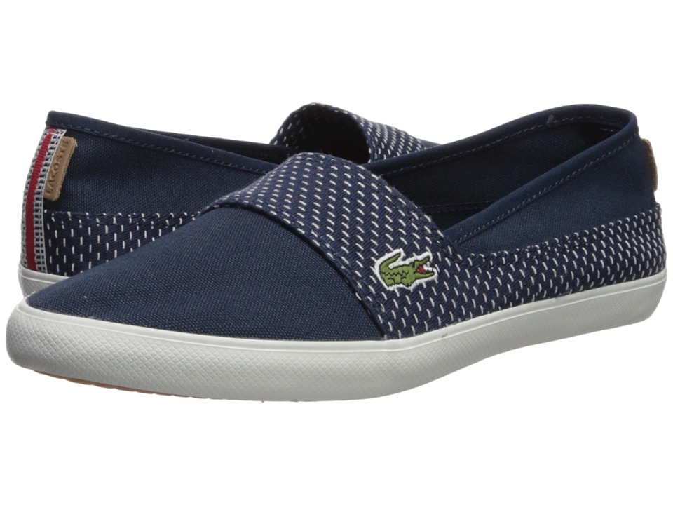 Lacoste - Marice 218 2 (Navy/Off-White) Womens Shoes