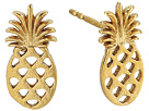 Alex and Ani Pineapple Post Earrings