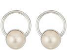 Alex and Ani White Sea Sultry Circlet Earrings