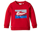 Lacoste Kids Multicolor Animation Sweatshirt (Toddler/Little Kids/Big Kids)